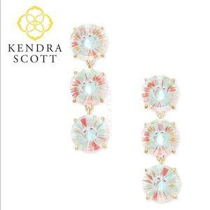 Kendra Scott Jolie Dichroic Glass Drop Earings